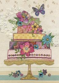 A041  Flower Cake - BugArt