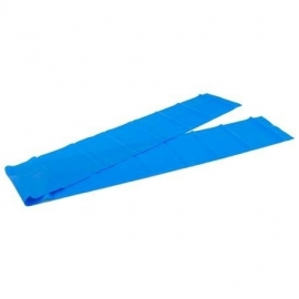 Yoga stretchband blauw