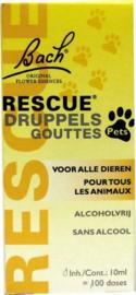 PETS Bach Rescue remedie - druppels - 10 ml