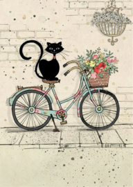 H019 Bike Kitty - BugArt