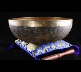Klankschaal Chaken - Zwart / Brons