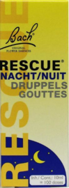 NACHT Bach Rescue remedie - druppels - 10 ml