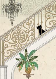 H028 Stairs Kitty - BugArt