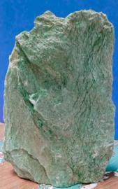 Ruwe Fuchsiet met stavlak - 765 gram