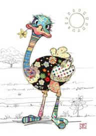 G012 Ozzie Ostrich - BugArt