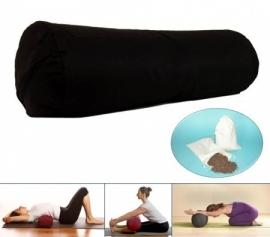 Yoga bolster - Zwart