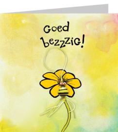 Wenskaart - Goed Bezzzig
