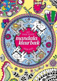 Het enige echte mandalakleurboek voor kids