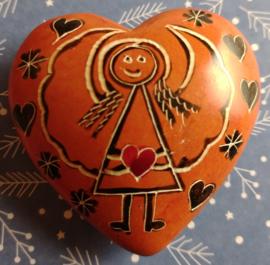 Engelsteenhart - oranje