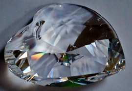 Hart 20 mm / Swarovski kristal