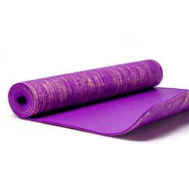 Yoga mat - Yogi & Yogini jute violet