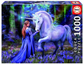 Bluebell Woods, Anne Stokes - 1000 - puzzel