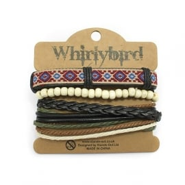 Whirly bird Armband - S48