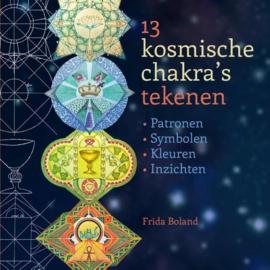 13 kosmische chakra's tekenen
