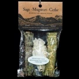 Smudge: Salie & Cedar & Mugwort