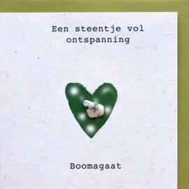 Wenskaart edelsteen - Boom Agaat
