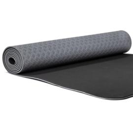 Yoga mat - Yogi & Yogini Premium TPE Antraciet