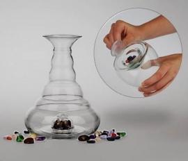Vitaalwaterkaraf Galileo voor edelstenen 1,3 liter