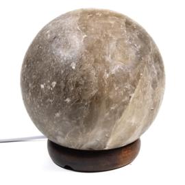 Zoutkristallamp bol grijs