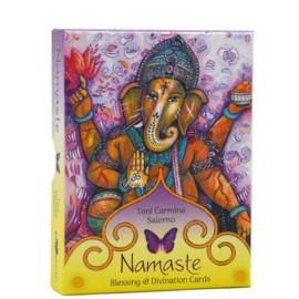 Namaste Blessing & Divination Cards - Toni Carmine Salerno