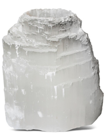 Seleniet ijsberg waxinelicht houder