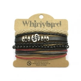 Whirly Bird Armband - S39