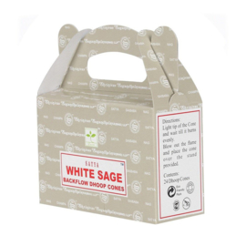Backflow incense - WHITE SAGE