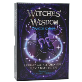 Witches' Wisdom Oracle Cards - Barbara Meiklejohn-Free