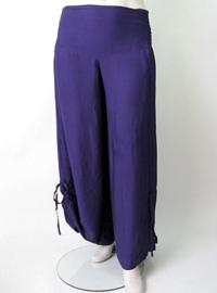 Zomerbroek dark purple / donker paars