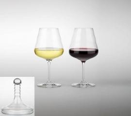 Vitaal flower of life wijnglas 0,2 liter