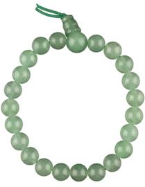 Aventurijn groen powerbead armband