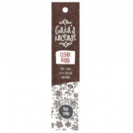 GAIA'S INCENSE FAIR TRADE -  CEDERWOOD
