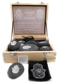 Hand van Hamsa Steen
