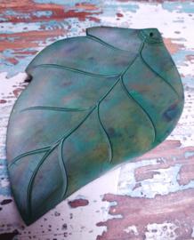 Parelmoer blad - groen