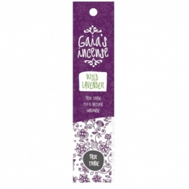 GAIA'S INCENSE FAIR TRADE -  WILD LAVENDER