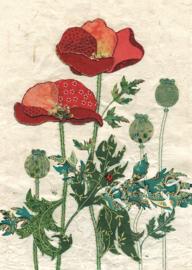 A021 Pattern Poppies - BugArt