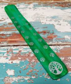 Wierookplankje 25 cm - groen * levensboom