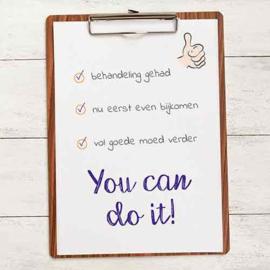 You can do it! - Uit het Hart
