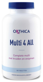 OrthicaMulti 4 all - 180 tabletten
