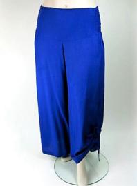 Zomerbroek koningsblauw / royal blue
