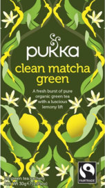 Clean Matcha Green - Pukka thee