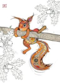G036 Sammy Squirrel - BugArt