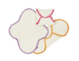 ImseVimse wasbare Inlegkruisjes - 3 stuks - naturel 100% Organic Cotton