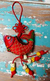 Tibetaanse geluks Vis - rood