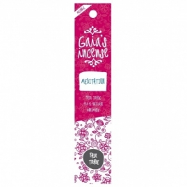 GAIA'S INCENSE FAIR TRADE -  MEDITATION