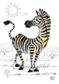 G028 Zoe Zebra - BugArt