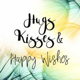 Hugs Kisses & Happy Wishes - Uit het Hart