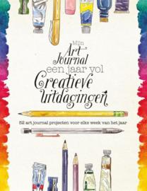 Een jaar vol creatieve uitdagingen - Mijn art journal