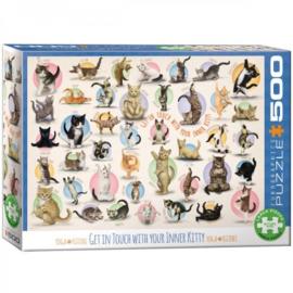 Yoga Kittens Puzzel - 500 - puzzel