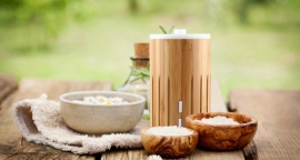 O'me Bamboo Aroma diffuser